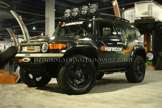Promotorsports fj promotorsports toyota fj cruiser with 20 kmc wheels and 37 hankook tires mozeypictures Choice Image